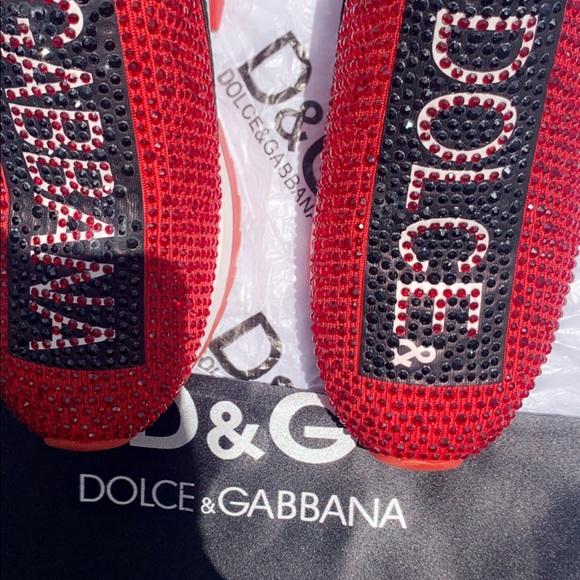 d&g glitter sneakers